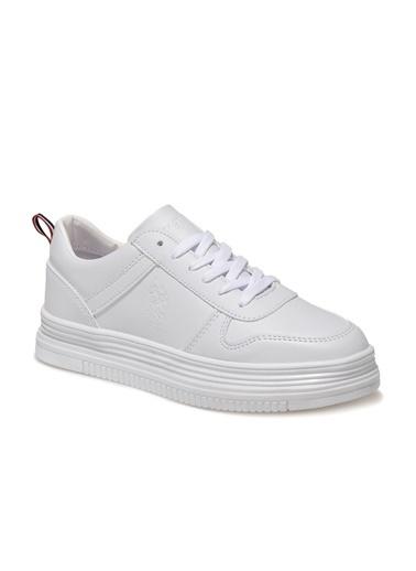 U.S. Polo Assn. Suri 1Fx Kadın Sneaker Beyaz